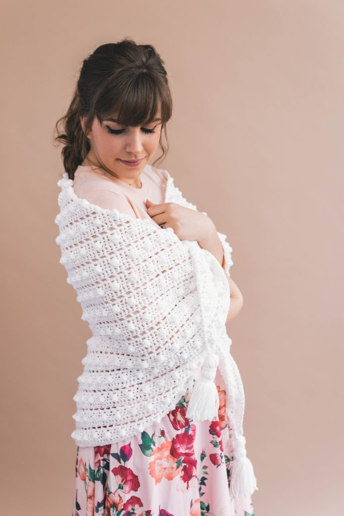 Number 2 from my top 5, the Crochet Le Nuage Wrap by Sewrella