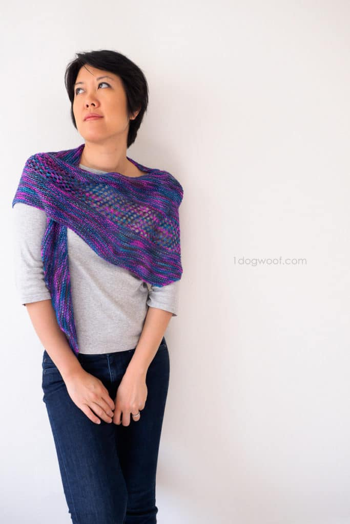 Number 3 from my top 5, the New Paths Shawl by One Dog Woof