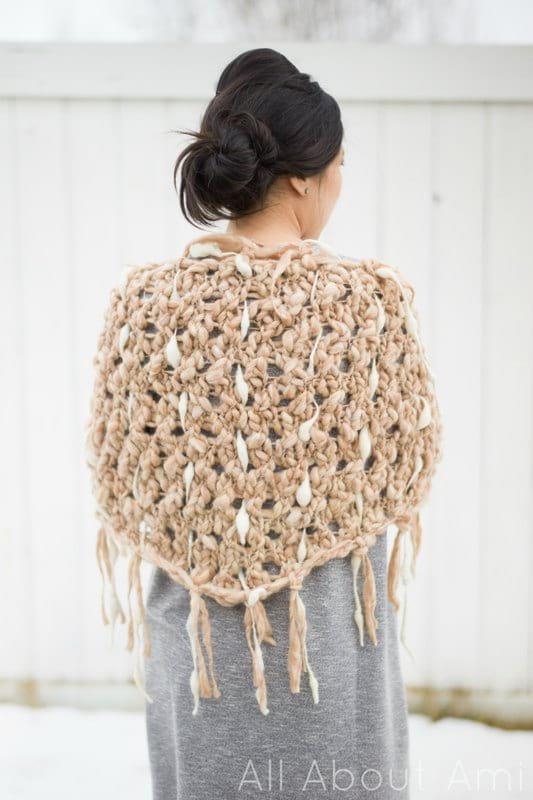 Number 5 from my top 5, the Dash Shawl made by All About Ami
