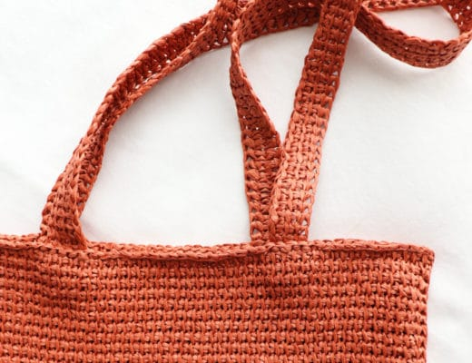 Cover image for the Tunisian raffia Tote