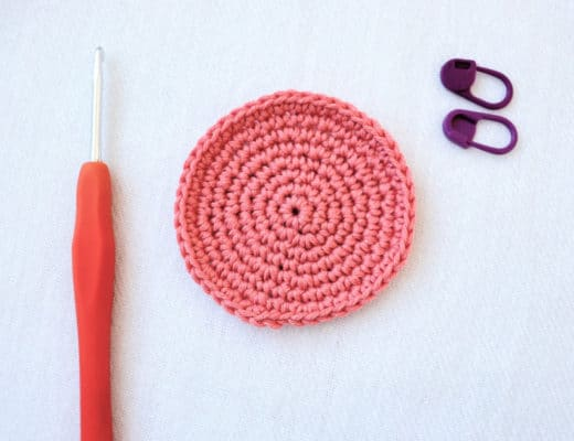 A perfect crochet circle